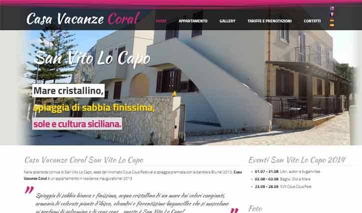 Coral Casa Vacanze San Vito Lo Capo