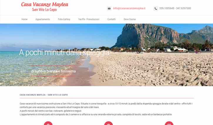 Casa Vacanze Maylea San Vito Lo Capo